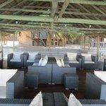 Deck with lounge area on the Orange River