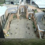  View of Coventry ruins from Spire...