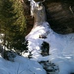 Munising Falls in early April '13