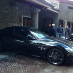  Masserati show in the hotel