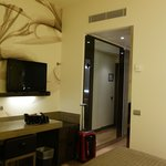  Deluxe room - TV and mini bar