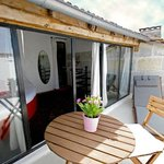 Terrasse privative sur les toits