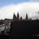  vista da catedral desde o meu quarto