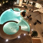 The magnificent outdoor pool