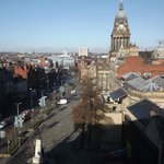 View of Headrow/Town Hall from 6th Floor room
