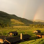  Rainbow over the ranch