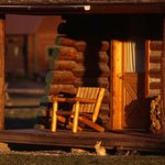 Front porch of a cabin