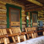  Front porch of lodge