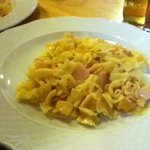 A pasta dish that we were served, it was very nice!