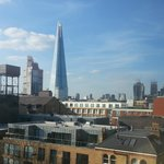  View of Shard from Room 512