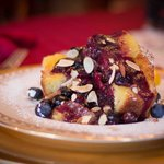 Blueberry Stuffed French Toast with House-made Brioche