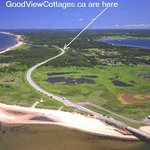 VIEW OF STANHOPE BEACH AND GOODVIEW PEI COTTAGES