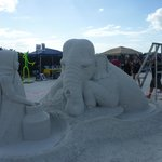 World Sandcastle Championships on our beach yearly