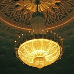 Chandelier in Kodak Hall Eastman Theater