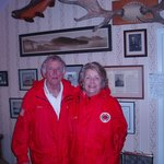 1988 presidential candidate Gary Hart & wife Lee stayed with us