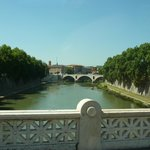  View of Tiber River Taken from Ponte Sisto near Hotel