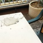 Concrete on the table