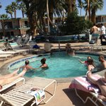 Desert inn pool and spa