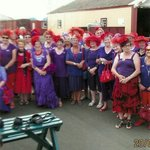 The Red Hat Ladies from Howick
