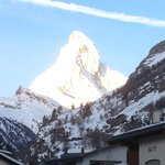 View on the Matterhorn from room! Amazing.