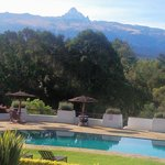 ..morning view of Mt. Kenya...