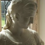  Bust in one of the bedrooms