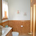 Downstairs bathroom in Chalet 1
