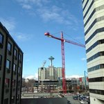  View of the Space Needle from room 332