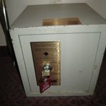 The safe in the room---a little old, don't you think?