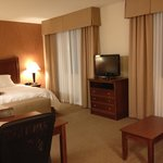 Room - TV and bed