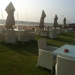 Beach chairs & tables for ur grilled prawns & fried rice��