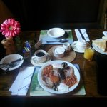 Val's awesome breakfast - a great start to the day
