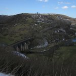  On the Monsal Trail near Bakewell