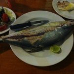  Awesome fresh grilled fish, handcought by the owner of Blue Lotus.