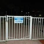 pool closed - not disclosed until after you have paid
