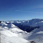 amazing panorama and ski conditions in Ischgl