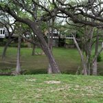  Looking at back of the inn across Cypress Creek
