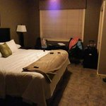 Not the best picture to show how nice the room was - but the only one I have.