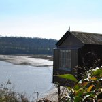 Laugharne ,Dylan Thomas' boat house