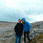 Cold afternoon.  Wonderful for a Burren tour