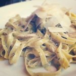 This is the pasta that my friend and I had! YUMMY!