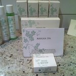  In house Manuka Spa toiltries