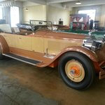 Two Tone Tan Packard