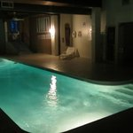  Indoor heated pool, until 10pm, plus jacuzzi, shower
