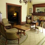  The Parlor, a common area for guests to relax