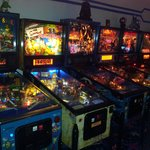 Lots of pinball here!