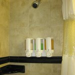  great decor and use of space in bathroom-LOVED amenities