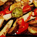  Roast summer veg