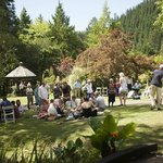  Wedding Guests enjoying the gardens 2
