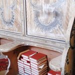  Viscri - Praying books inside the fortified church